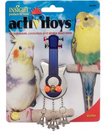 Juguete Active Toy Guitar para Aves JW