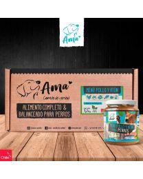 Ama Comida Completa para Perros Pollo y Atún