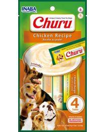 "Snack Cremoso ""CIAO Churu"" de Pollo para Perros - 4 tubos"