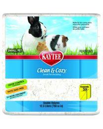 """Sustrato Kaytee """"Clean & Cozy"""" Blanco"""