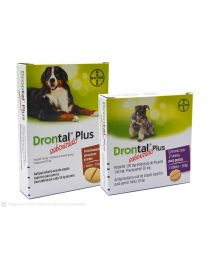 Antiparasitario Comprimido DRONTAL PLUS para Perros