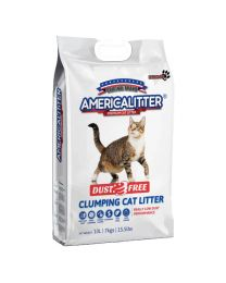 "Arena Aglutinante America Littter ""Dust Free"" 7kg"