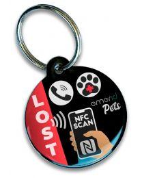 Emerid Pets Placa de Identificación