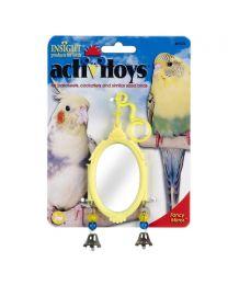 "Espejo Colgante ""Fancy"" para Aves"