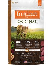 Instinct Original Grain-Free para Gatos Receta Pato