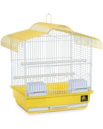 Hábitat y Jaula para Periquitos Multipack - Diseño Amarillo