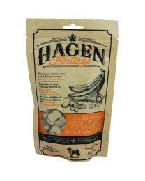 """Snacks """"Hagen Heritage"""" para Perros - Plátano y Mantequilla de maní"""