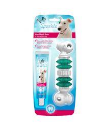 Juguete Cepillo y Pasta Dental Sparkle para Perros