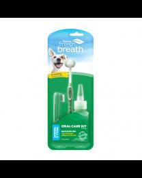 Kit Cuidado Dental Tropiclean para Perros Pequeños y Medianos