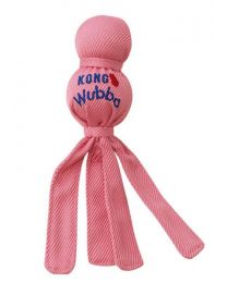 Juguete Kong Wubba Cachorro - Rosado