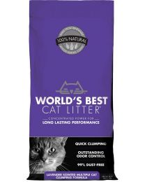 "Arena Aglutinante Natural ""World's Best Cat Litter"" Multicat Lavanda"
