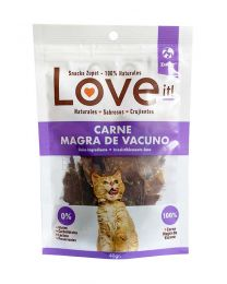 Snack Love it! para Gatos Carne Magra de Vacuno