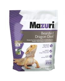 "Mazuri ""Bearded Dragon Diet"" para Dragón Barbudo y Reptiles Insectívoros"