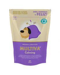 Premios Calmantes para Perros Medianos y Grandes Multiva
