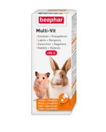 Multivit  Gotas para Conejos y Roedores