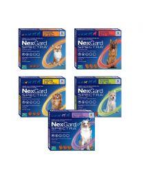 Nexgard Spectra Antiparasitario - 3 Tabletas
