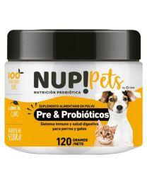 Suplemento Pre & Probióticos Nup! Pets Carne