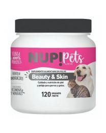 """Suplemento Cuidado de Piel y Pelaje """"Beauty & Skin"""" Nup! Pets"""