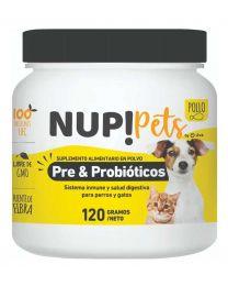Suplemento Pre & Probióticos Nup! Pets Pollo