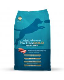 "Nutra Gold Grain-Free ""White Fish & Sweet Potato"""