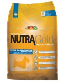 Nutra Gold Holistic Microbites Perro Adulto Indoor
