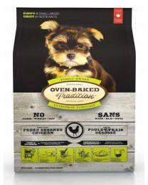 Oven-Baked Pollo para Perros Pequeños Cachorros