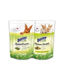 Pack Bunny Nature Shuttle + Basic Rabbit Dream para Conejos
