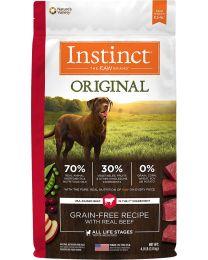 Instinct Original Grain-Free para Perros Receta Vacuno