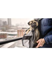 Mochila de Transporte Frontal para Mascotas