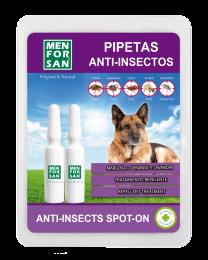 Pipetas Anti-insectos Natural Men for San para Perros