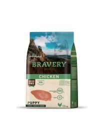 Bravery Cachorro Pollo Raza Grande y Mediana