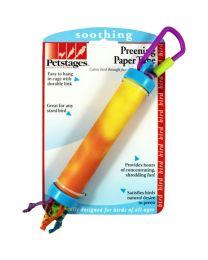 Preening Paper Tube
