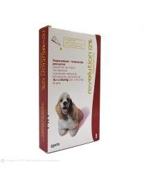 Antiparasitario REVOLUTION 12% para Perros de 10,1 a 20 kg