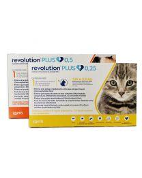 Revolution Plus Antiparasitario Interno y Externo para Gatos
