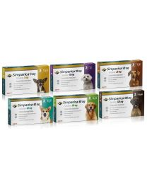 Simparica Antiparasitario para Perros - 3 comprimidos