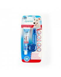 Cepillo y Pasta dental Sparkle para perros