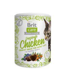 Brit Care Cat Snacks Superfruits Pollo