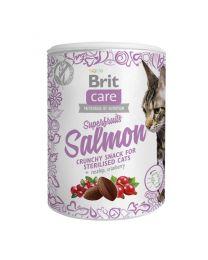 Brit Care Cat Snack Superfruits Salmón