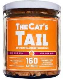 "Galletas Caseras para Gatos ""The Cat's Tail"" de Pescado - 160 gramos"