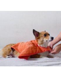 Toalla Capa con Bolsillos para Perros Tall Tails
