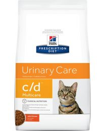 Hill's Cuidado Urinario c/d Multicare Gato