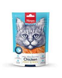 "Snack Wanpy ""Jerky Strips"" Pollo para Gatos"
