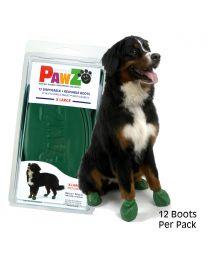 Botas Reutilizables y Biodegradables PawZ Talla X Large