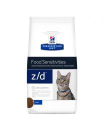 "Hill's ""Skin/Food Sensitivities"" z/d Gatos"
