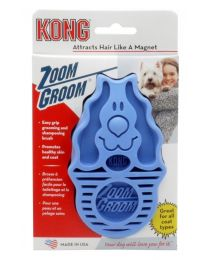 Cepillo Kong Zoom Groom para Perros - Celeste