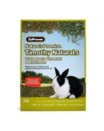 """ZuPreem """"Nature's Promise Timothy Naturals"""" Alimento para Conejo Adulto  - 4,54 kg"""